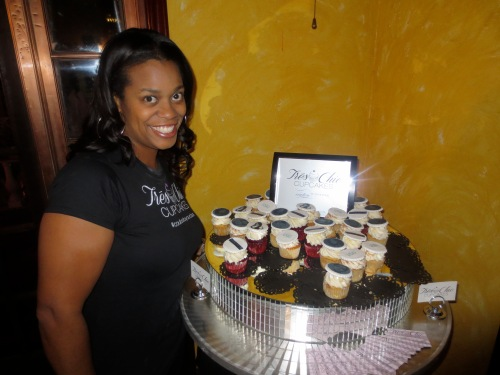 Trina Monique of Tres Chic Cupcakes.