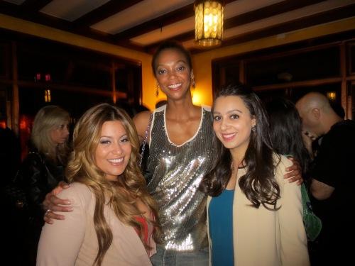 With Lasio CEO & Founder Nadine Ramos and Amanda Flores of Latina Magazine.